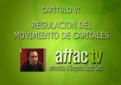 Entrevista a Gregorio López Sanz: Regulación del movimiento de capitales. Cap. VI