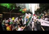 Miles de personas defienden la Tierra en Río de Janeiro
